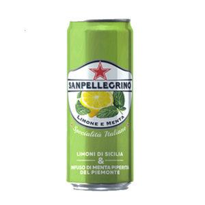 Limone e Menta Sanpellegrino in lattina 6x33cl