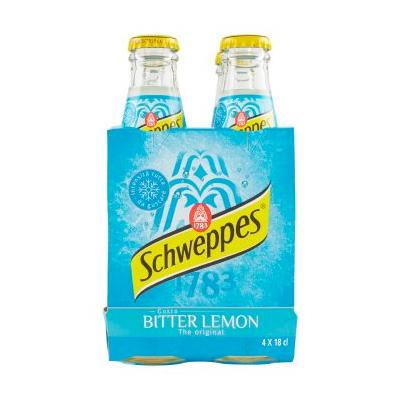 Schweppes Bitter Lemon 4x18cl