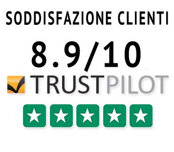 trustpilot 8,9