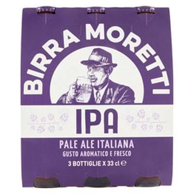 MORETTI-IPA-3X33CL