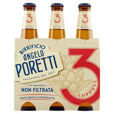 Poretti-Birra-3-Luppoli-Non-Filtrata-3x33cl