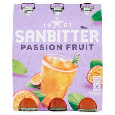 Sanbittèr Passion Fruit Aperitivo Analcolico 3x20cl